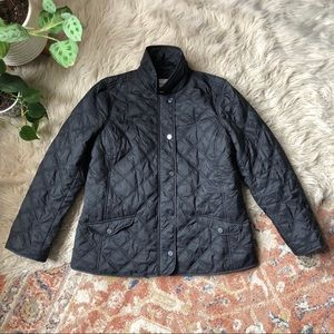 Charter Club Black Nylon Quilted Jacket